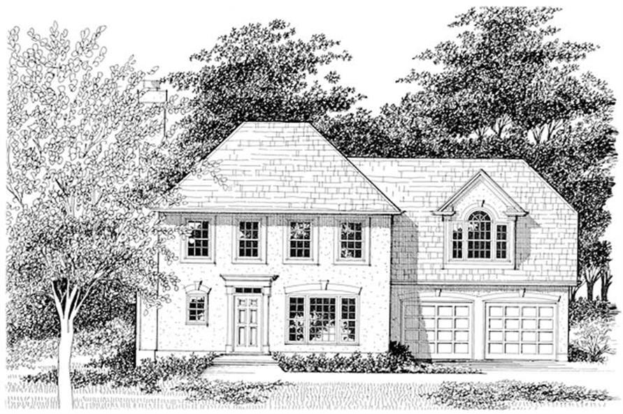 Main image for house plan # 14410