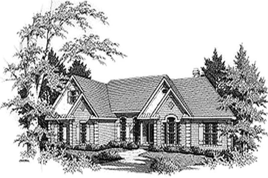 Main image for house plan # 14463