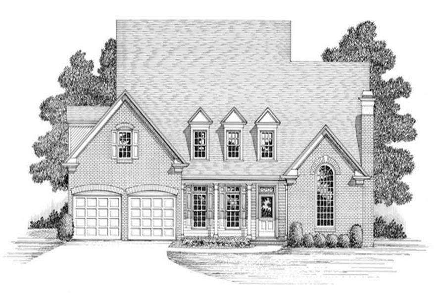 Main image for house plan # 14496