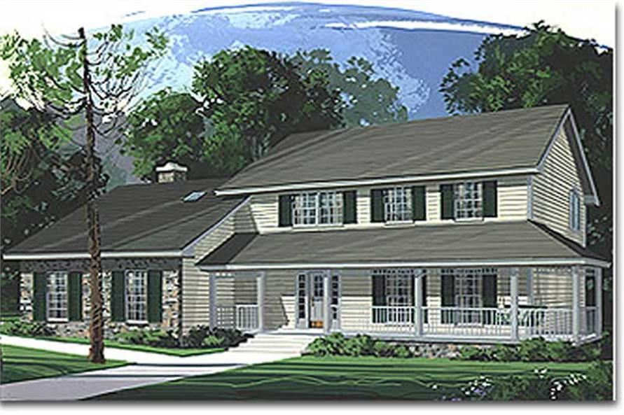 Main image for house plan # 14453