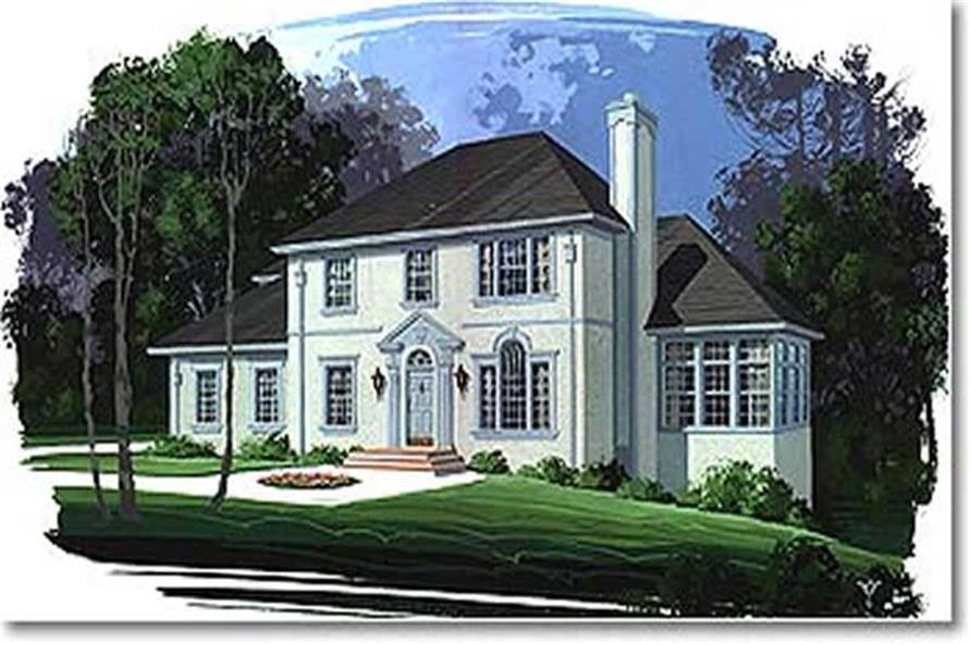 Main image for house plan # 14458