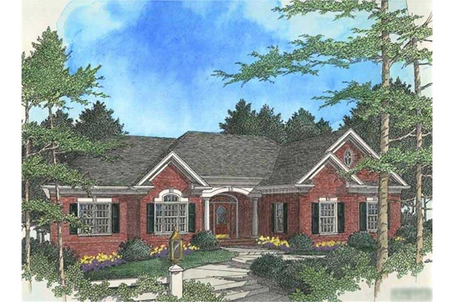 Main image for house plan # 14464