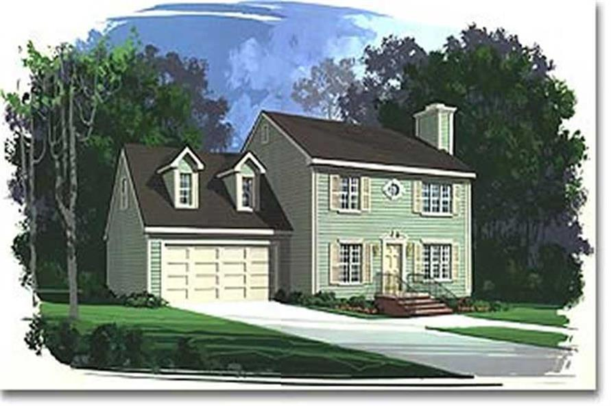 Main image for house plan # 14406