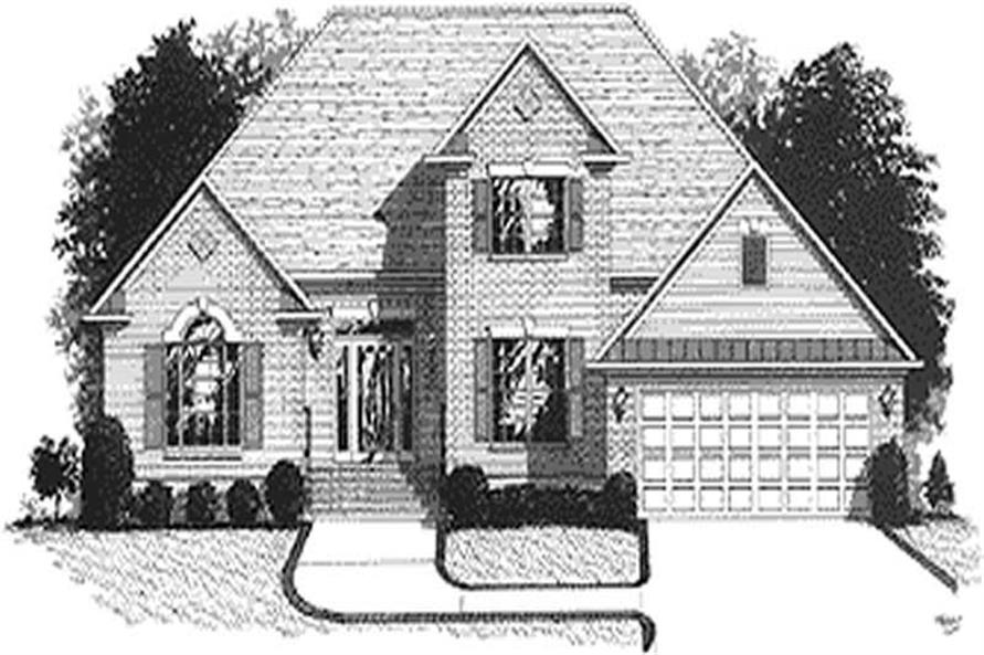 Main image for house plan # 14420