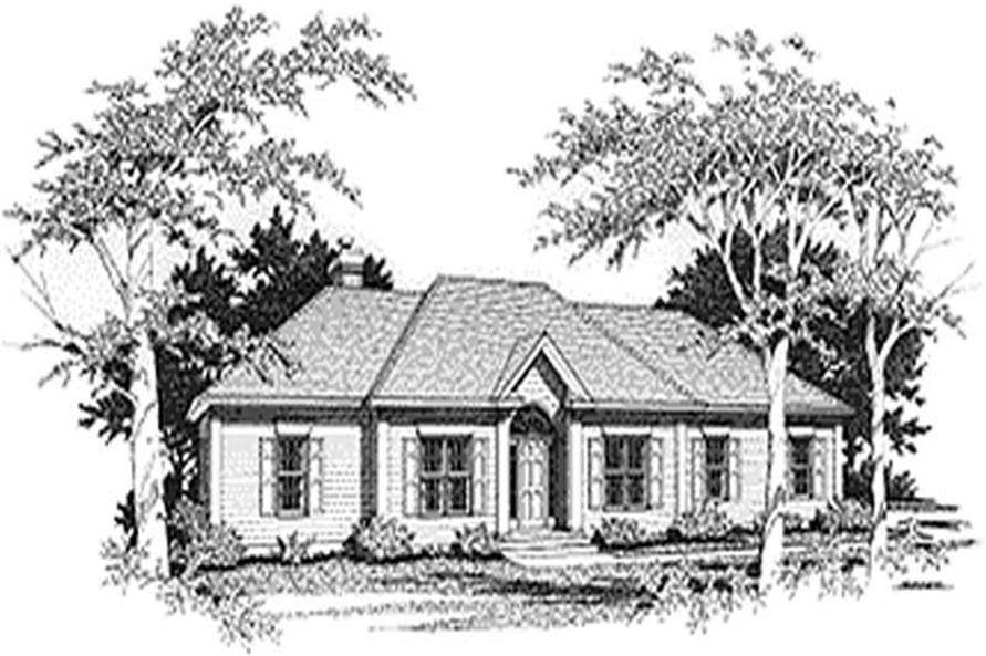 Main image for house plan # 14424