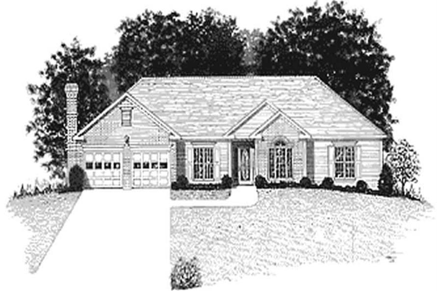 Main image for house plan # 14425