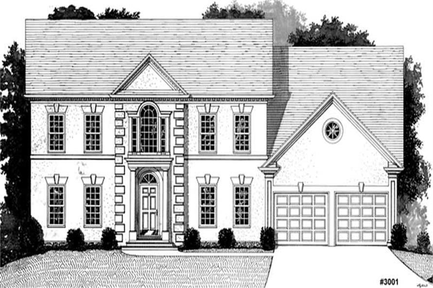 Main image for house plan # 14495