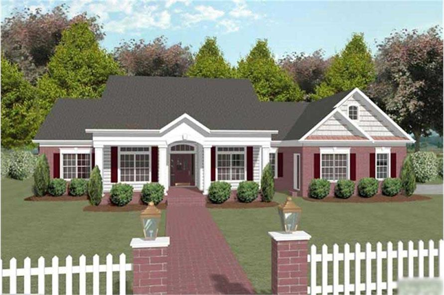 Main image for house plan # 14456