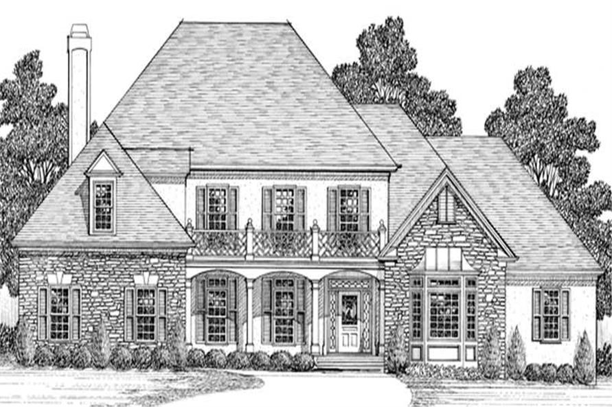 Main image for house plan # 14516