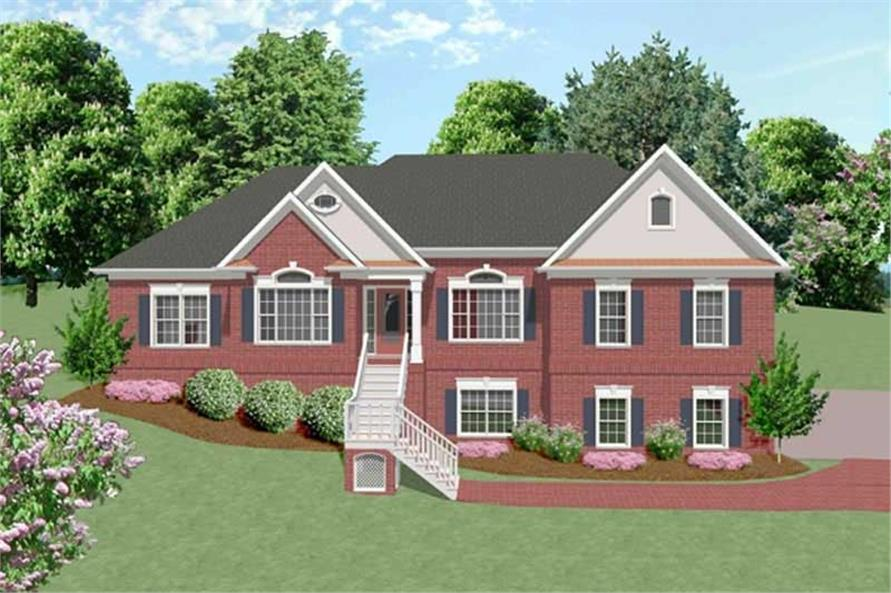 Main image for house plan # 14455