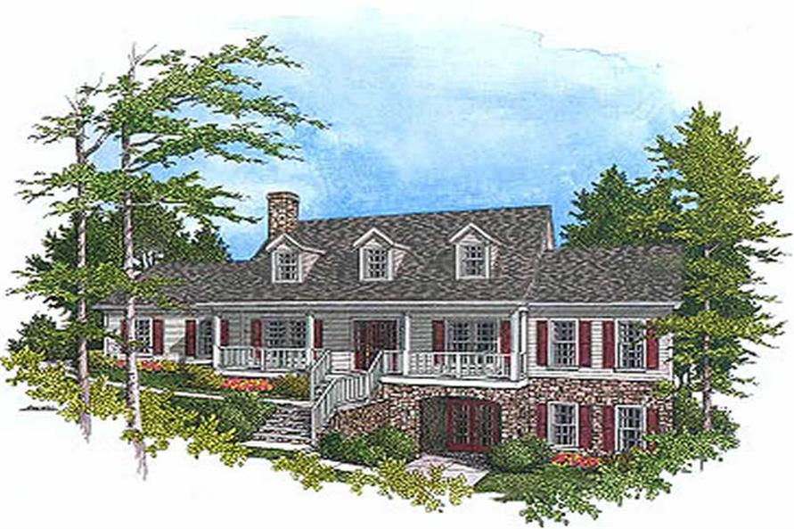 Main image for house plan # 14471