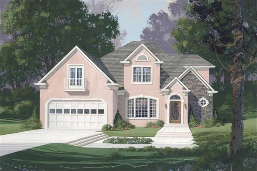 Main image for house plan # 14474