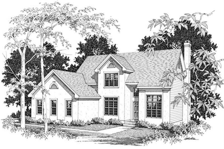 Main image for house plan # 14460