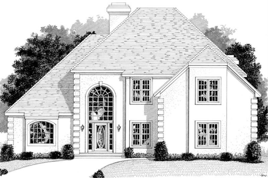 Main image for house plan # 14490