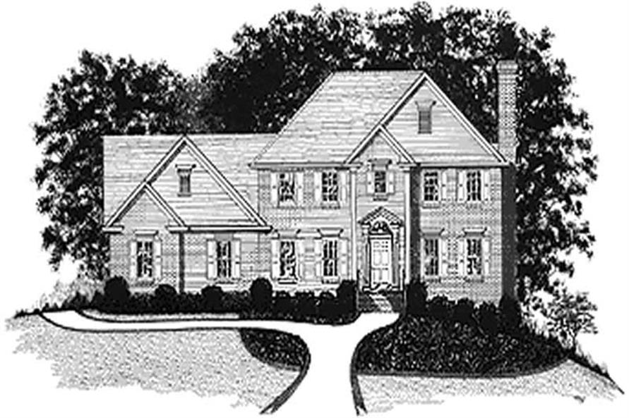 Main image for house plan # 14447