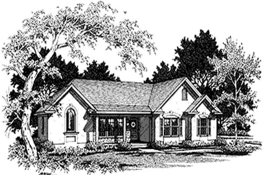 Main image for house plan # 14452