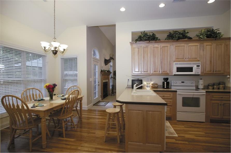 109-1174 house plan kitchen