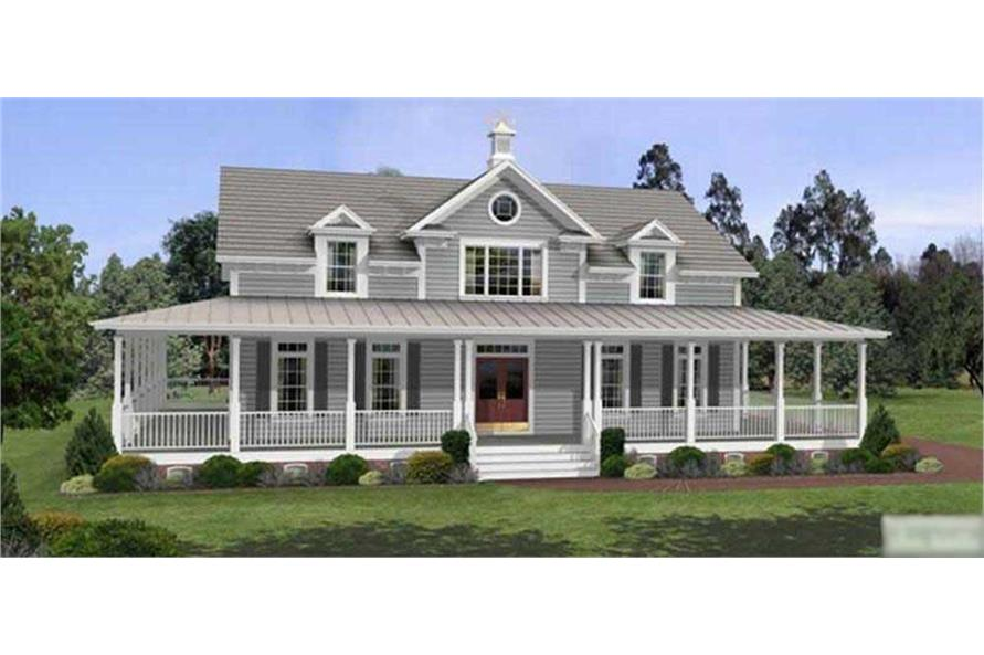 Main image for house plan # 14450