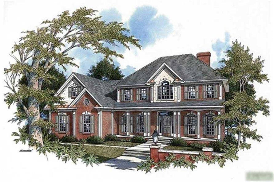 Main image for house plan # 14484