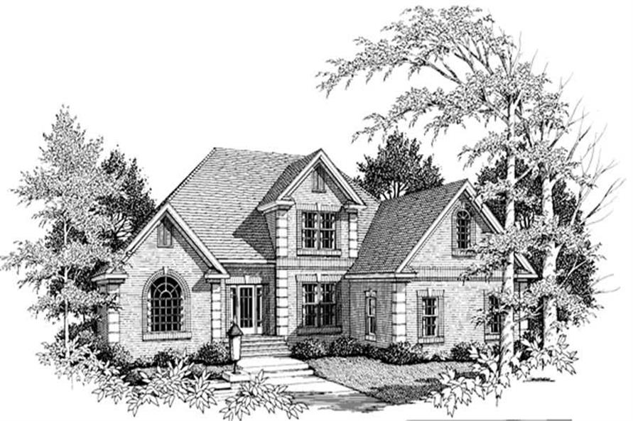 Main image for house plan # 14487