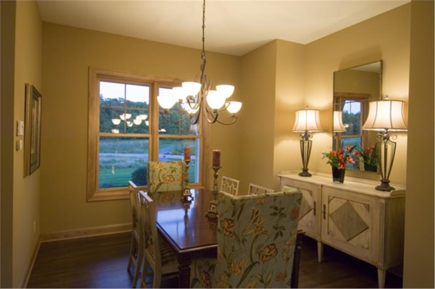 109-1191 house plan dining room
