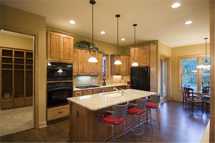 109-1191 house plan kitchen