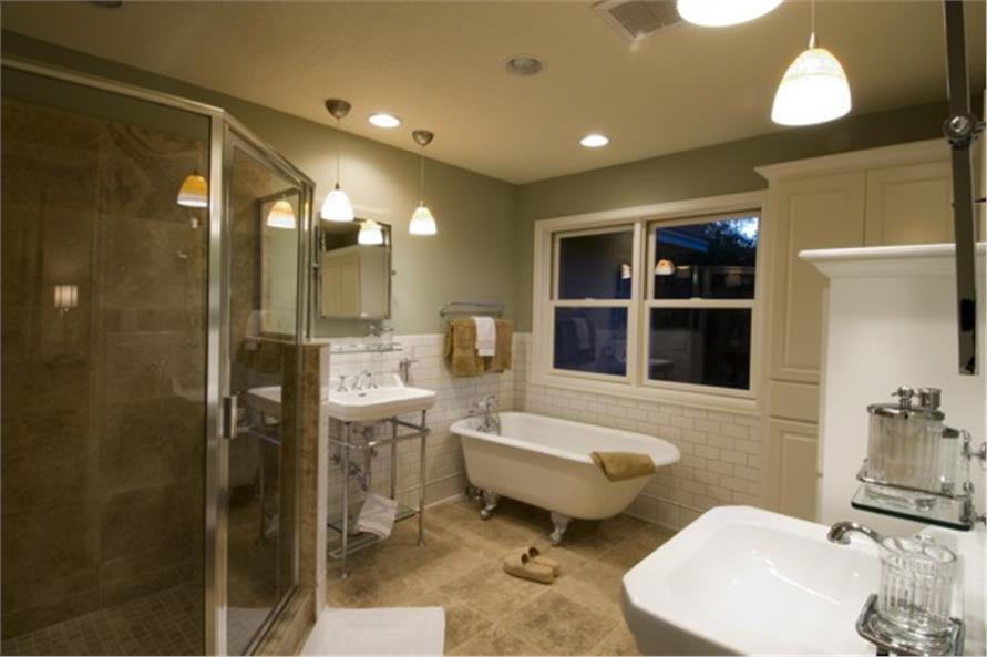 109-1191 home plan master bath