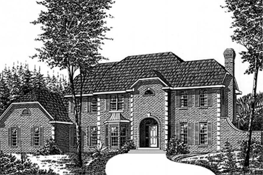 Main image for house plan # 6026