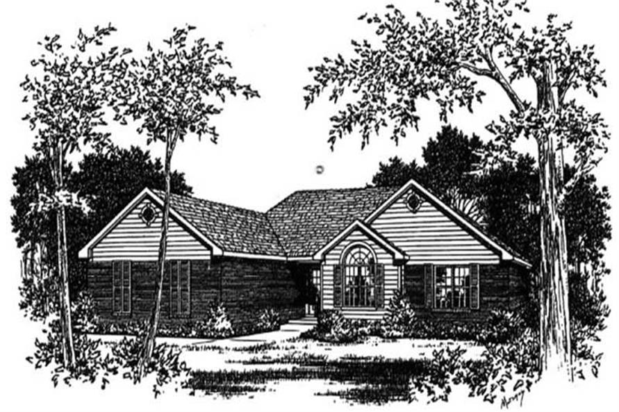 Main image for house plan # 5982