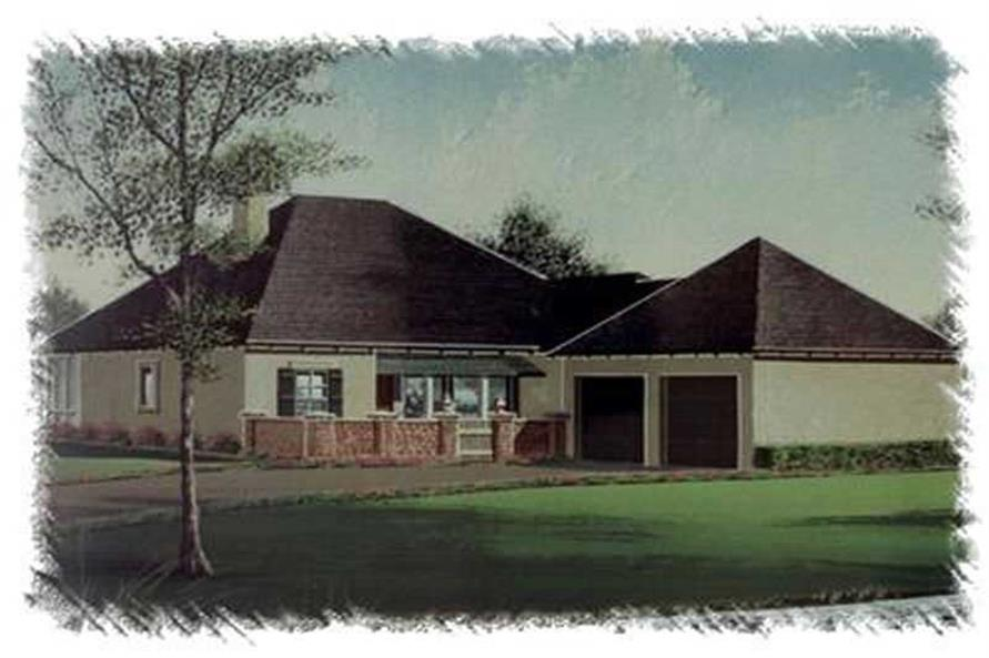 Main image for house plan # 6002