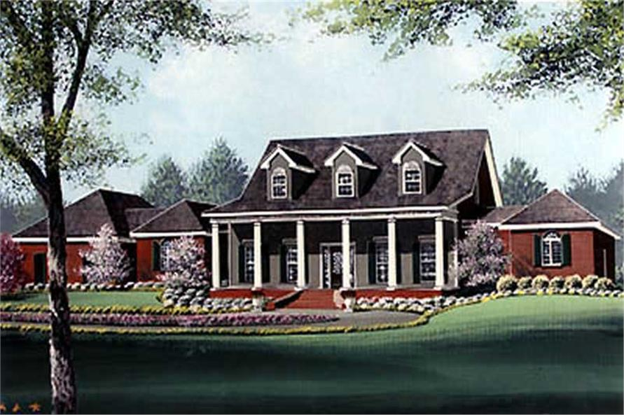 Main image for house plan # 6036