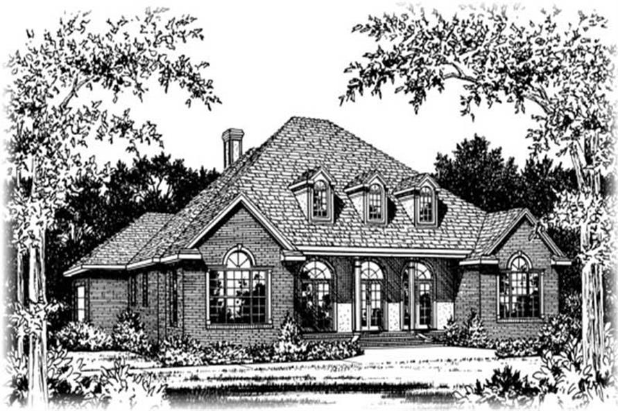 Main image for house plan # 6032