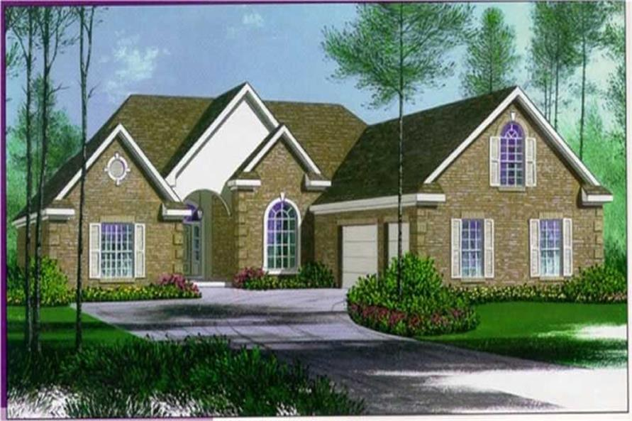 Main image for house plan # 6011