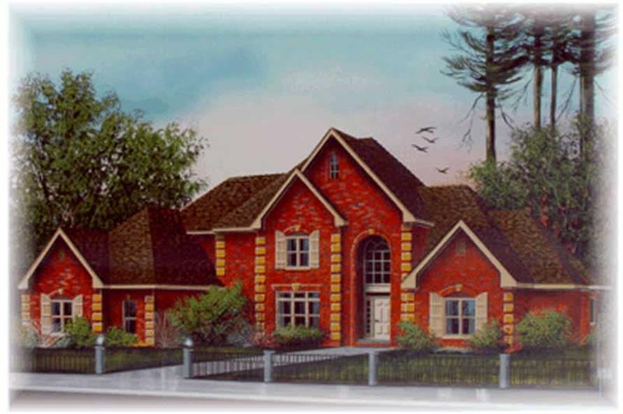 Main image for house plan # 6040