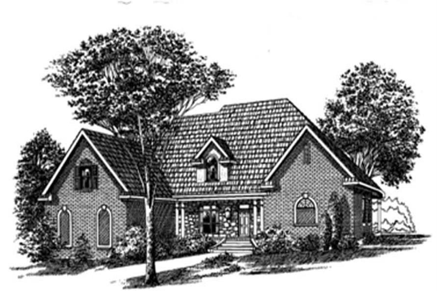 Main image for house plan # 6008