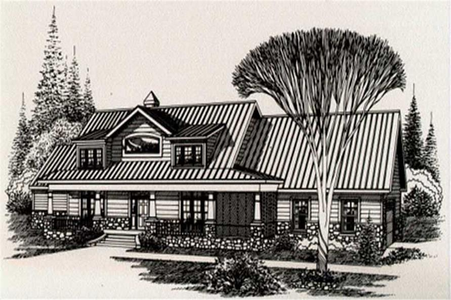Main image for house plan # 6025