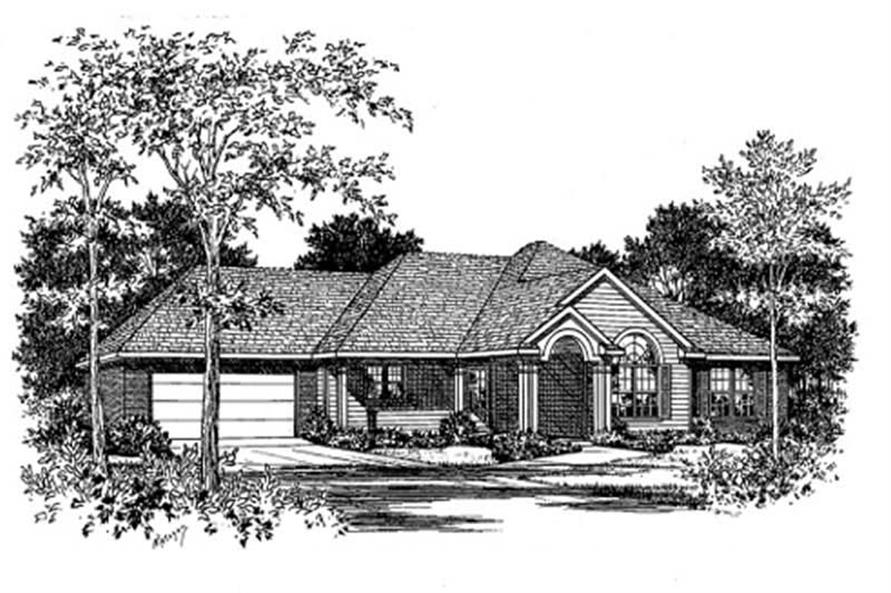 Main image for house plan # 5979