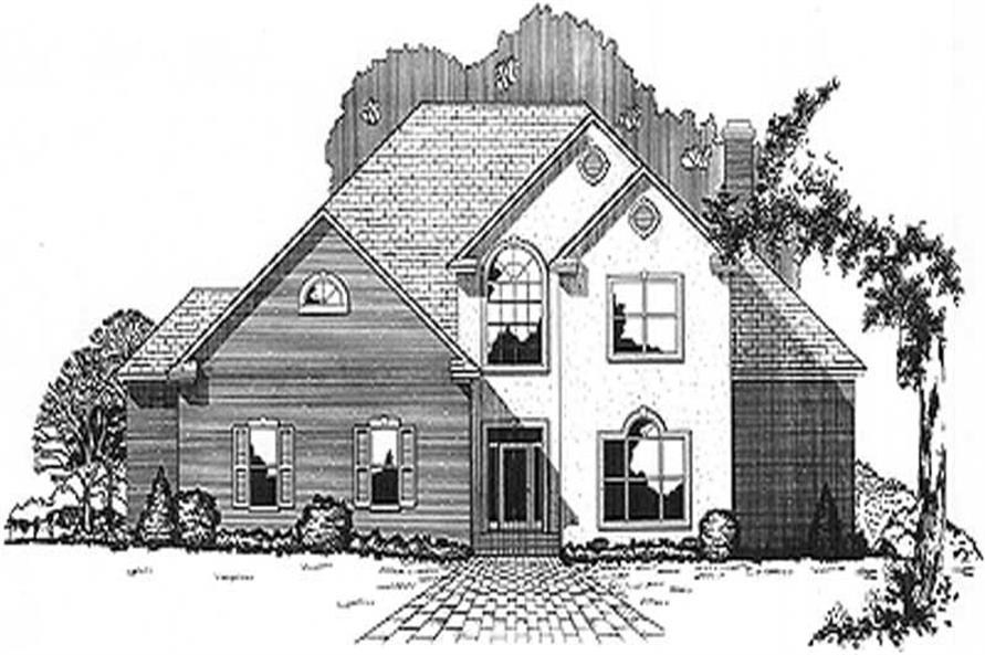 Main image for house plan # 6035
