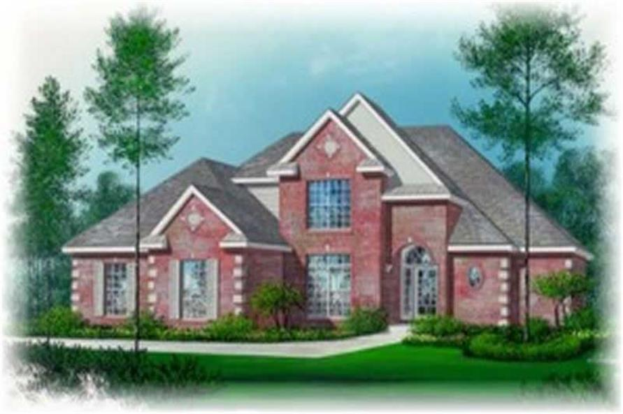 Main image for house plan # 6003