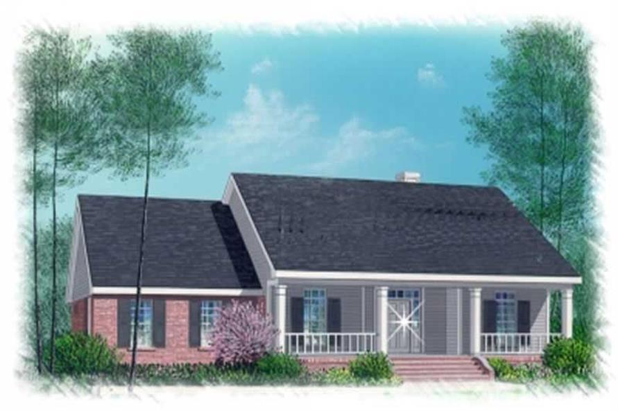 Main image for house plan # 5986