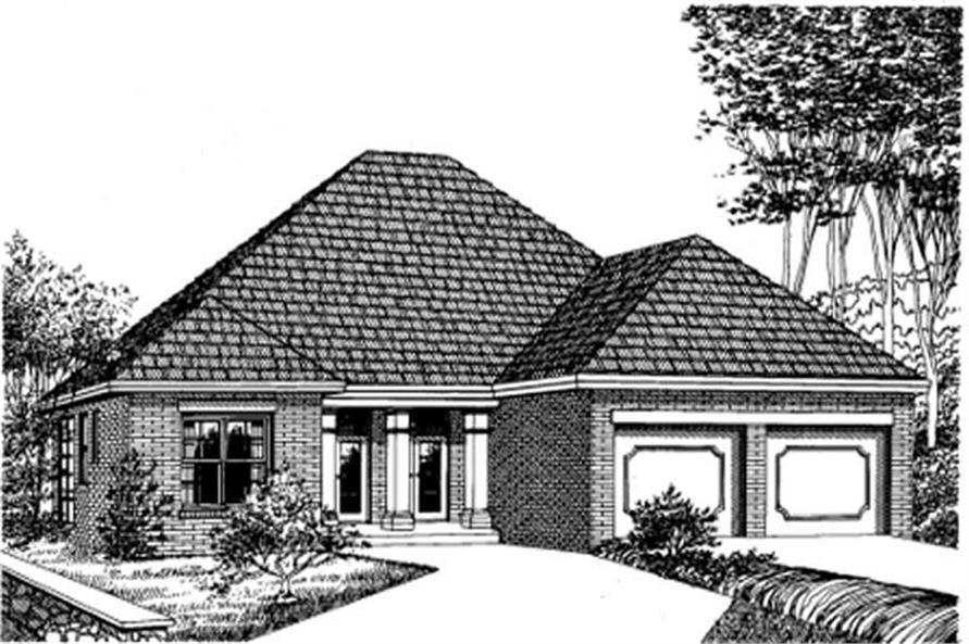 Main image for house plan # 5998