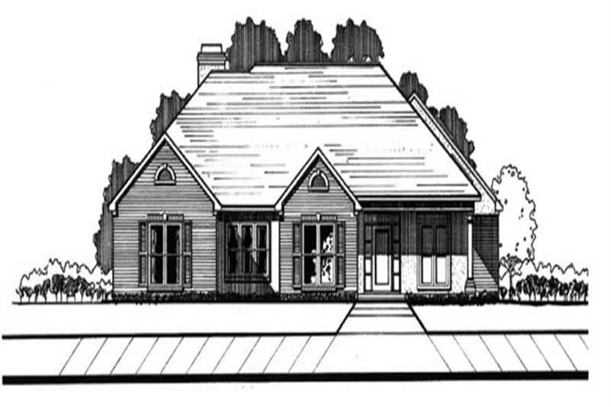 Main image for house plan # 6013