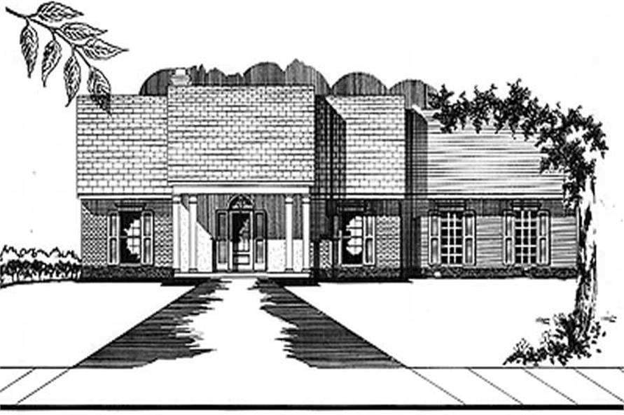 Main image for house plan # 5990