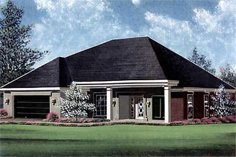 Main image for house plan # 5984