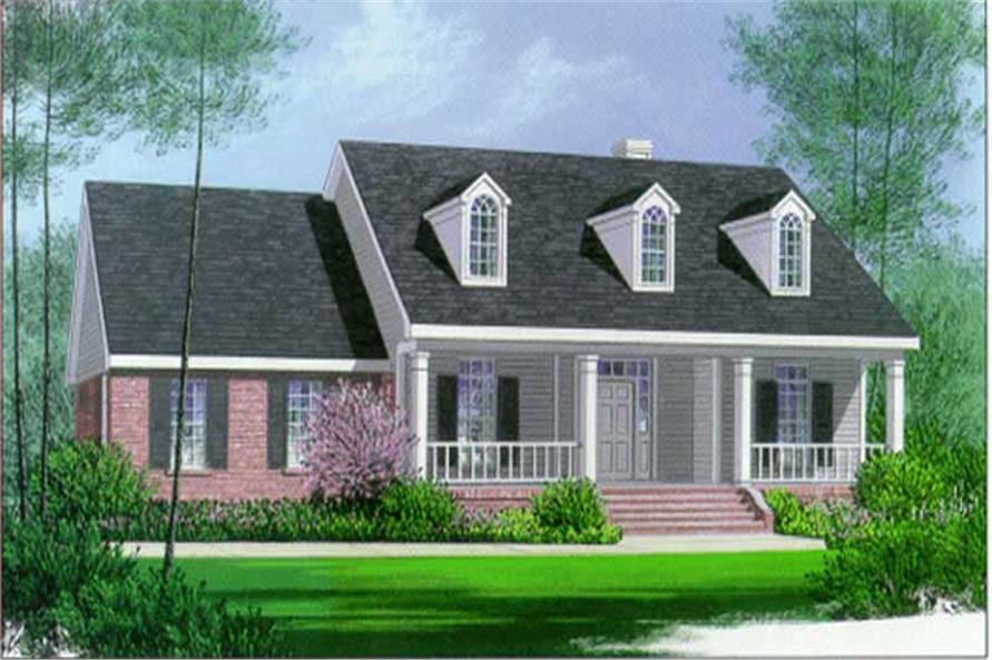 Main image for house plan # 5994
