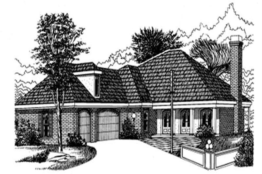 Main image for house plan # 6020