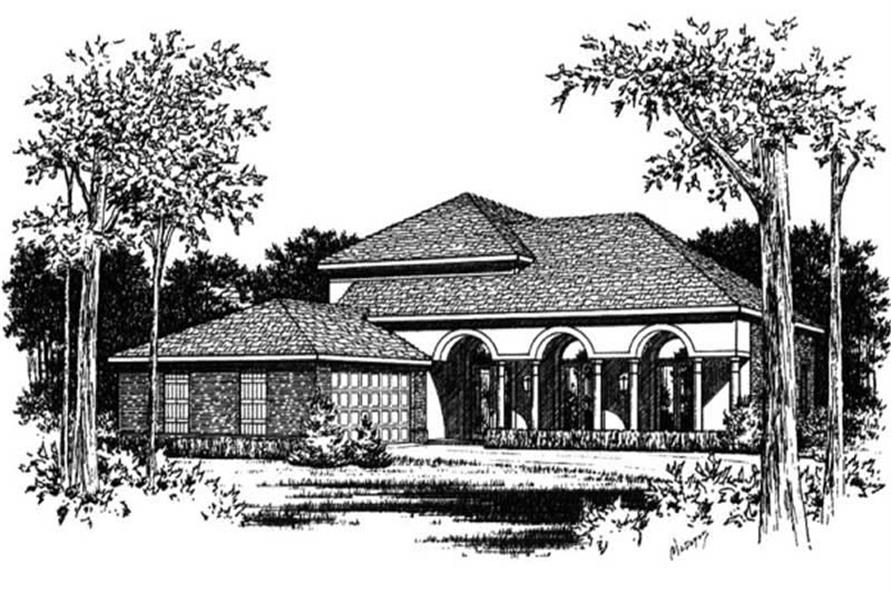 Main image for house plan # 6019