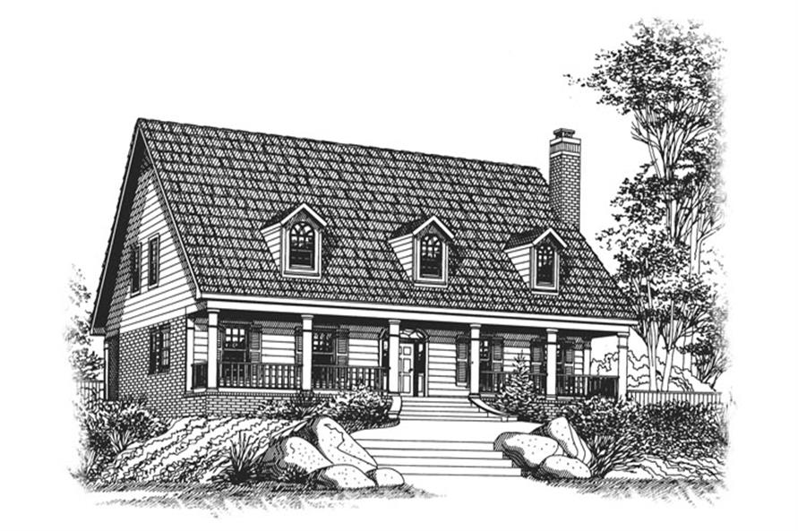 Main image for House Plan # 113-1078