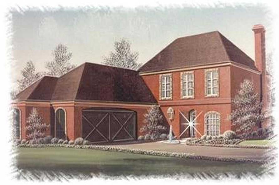 Main image for house plan # 6017