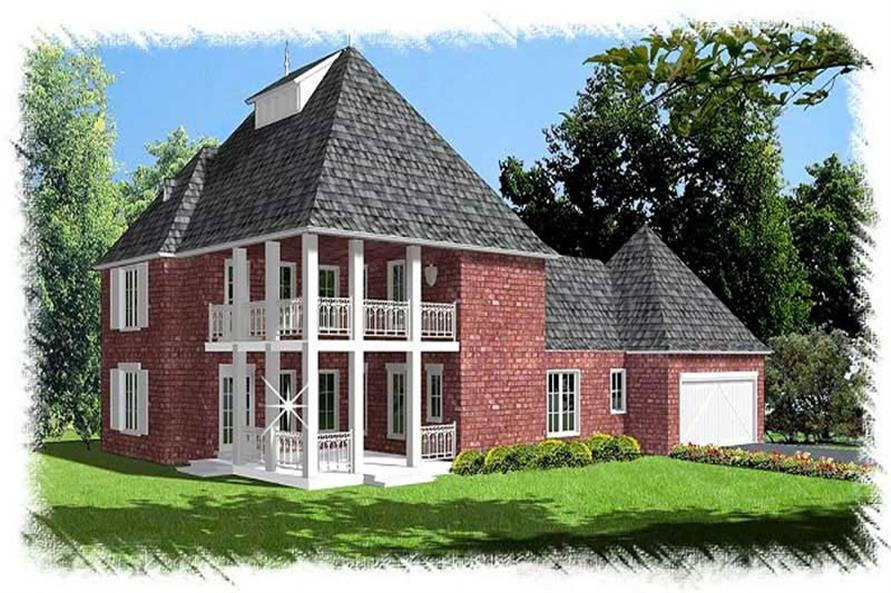 Main image for house plan # 9501